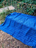 Guatemalan Indigo Throw