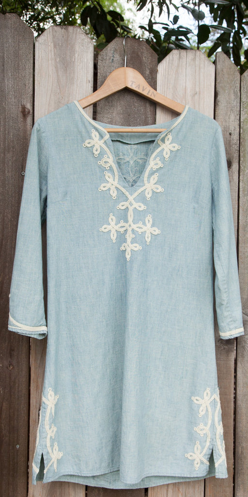 Blue Indian Cotton Tunic