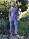 Plaid Cotton Saturday Jumpsuit