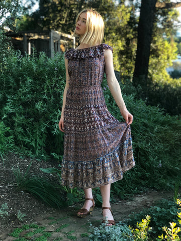 My Best Ever 70s Indian Cotton Dress