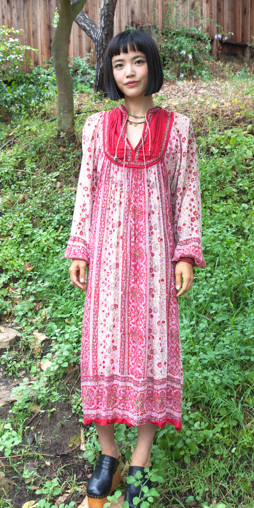 Rose Indian Dress