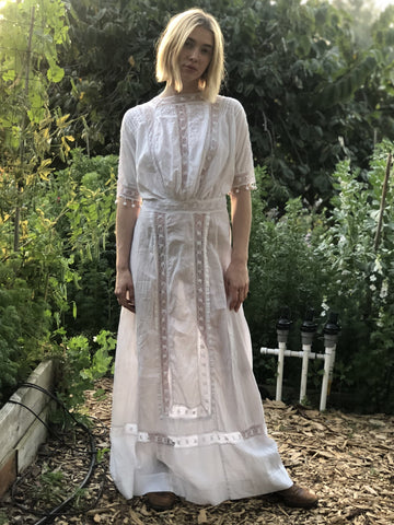 A Special Day Victorian Lace Dress