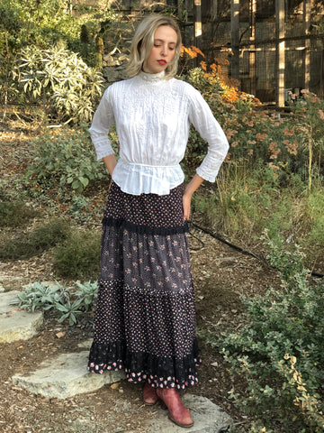 This Victorian Blouse I Wear On A Special Date