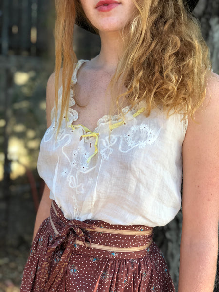 A Special Victorian Blouse For A Special Date