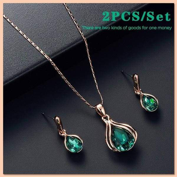 Mens necklace New Fashion Gracious Round Gem Copper Glass Beads Pendant Clavicle Necklace
