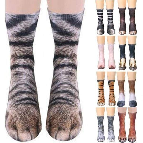 CHIC Funny Sock Elephant Animal Cartoon Print For Woman Man Boy Girl Free Size