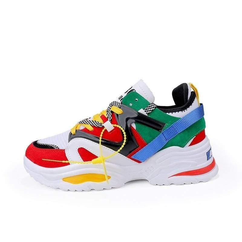 New Sports Shoes Ins Hot Men's Fashion Shoes Color Matching