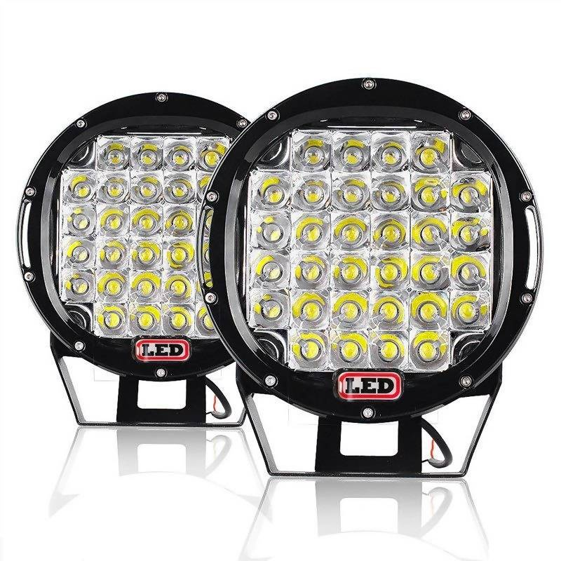 "9"" 96W/Each Spot Round Work Light / Off Road Pod Lights -2 Pack - Local Kiwi Deals"