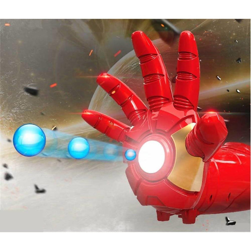 Avengers Electric Iron Man blaster with Jelly Bullet Shooting Action Figure - Local Kiwi Deals