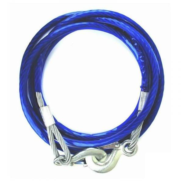 Emergency Vehicle Towing Cable Rope 5T 4m - Local Kiwi Deals