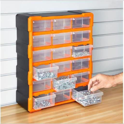 18 DRAWERS STORAGE TOOL BOX - Local Kiwi Deals