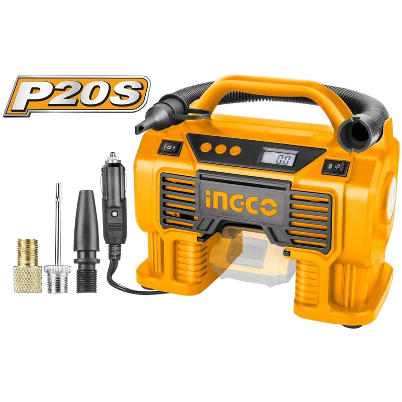 Auto Air Compressor 160psi INGCO 20V - Local Kiwi Deals