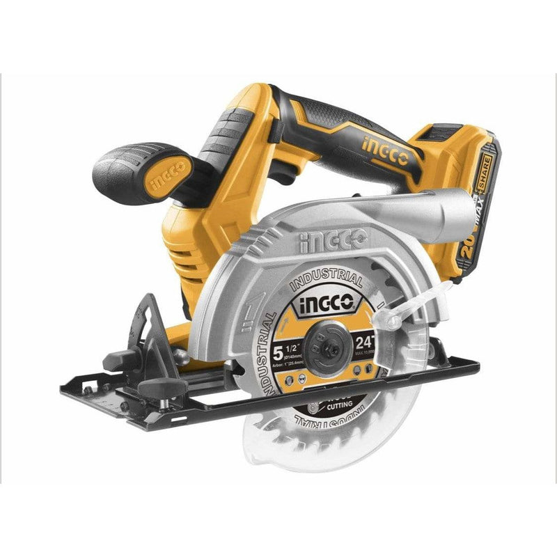 Circular Saw Lithium-Ion 20V INGCO with Battery and Charger - Local Kiwi Deals