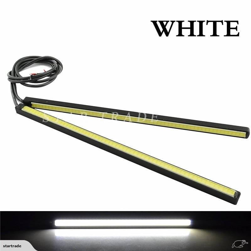 2 PCS Set Waterproof Aluminum High Power12V Slim COB Daytime Running Light - Local Kiwi Deals