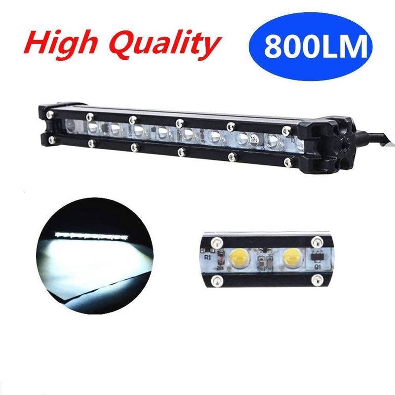 2PCS 9'' LED Light Bar/Super Slim Single Row Led Bar Light Spot Beam 10W 800Lm - Local Kiwi Deals