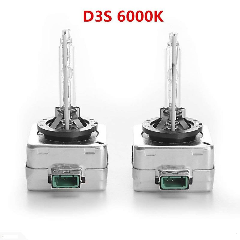 6000K 35W D3S Car Xenon HID Headlight Replacement Bulb (Pack of 2) - Local Kiwi Deals