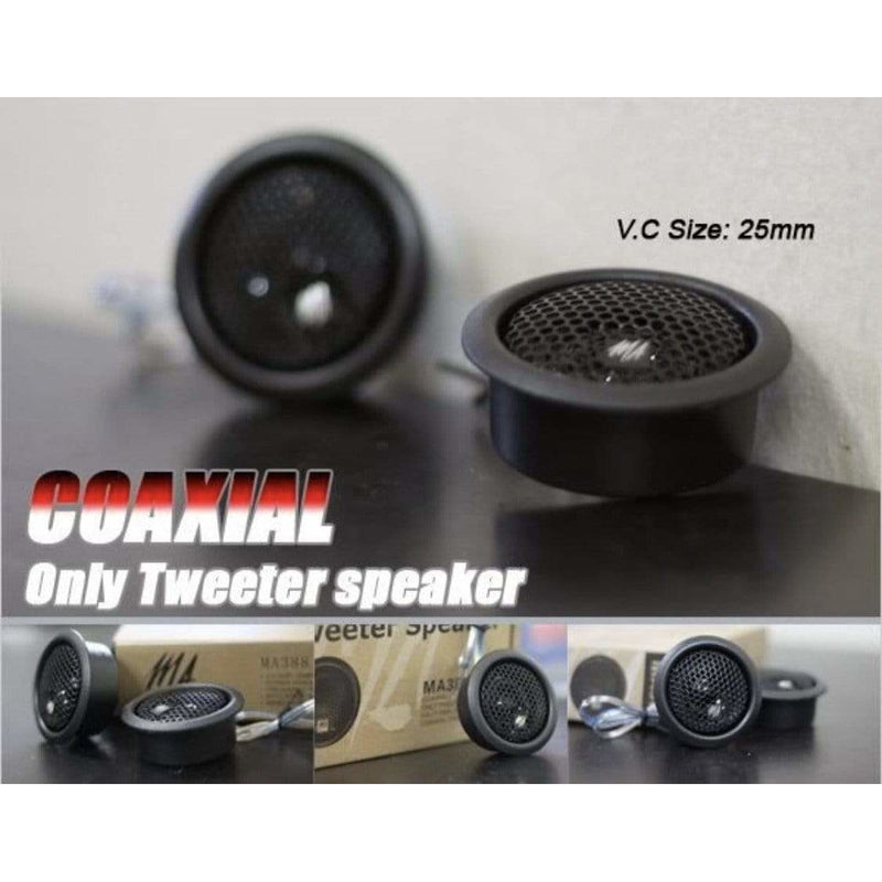 "MA Audio 1"" 120w Titanium Dome Tweeter (MA260) - Local Kiwi Deals"