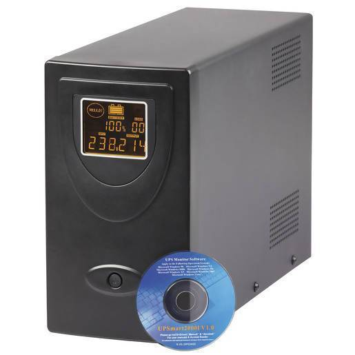 1500VA 900W 230VAC LCD Line Interactive UPS with USB - Local Kiwi Deals