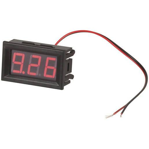 Self-Powered Red LED Voltmeter - Local Kiwi Deals