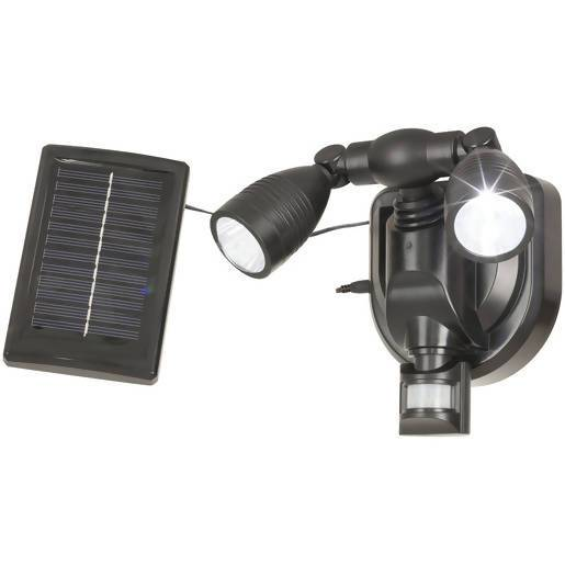 Solar Rechargeable Sensor Spot Lights - Local Kiwi Deals