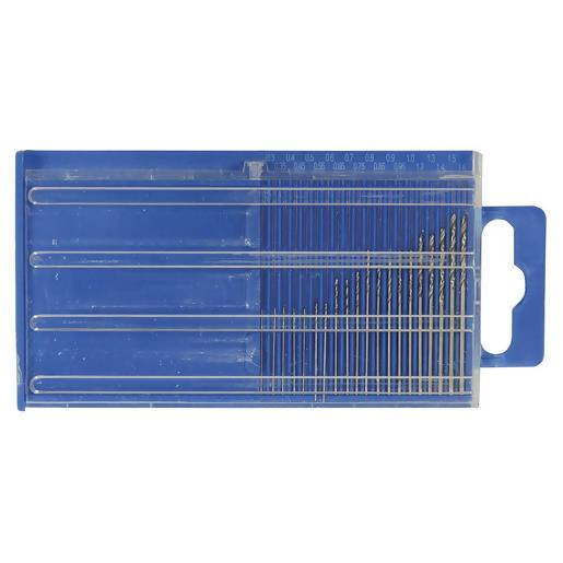 20 Piece Micro Drill Set 0.3 - 1.6mm - Local Kiwi Deals