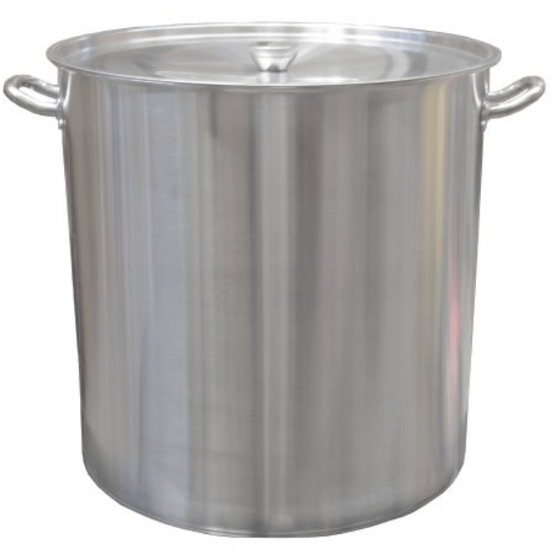 Commercial Stock Pot with Lid Stainless Steel 50L - Local Kiwi Deals