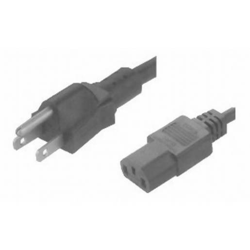 3pin USA Plug to IEC C13 Female - 1.8m - Local Kiwi Deals