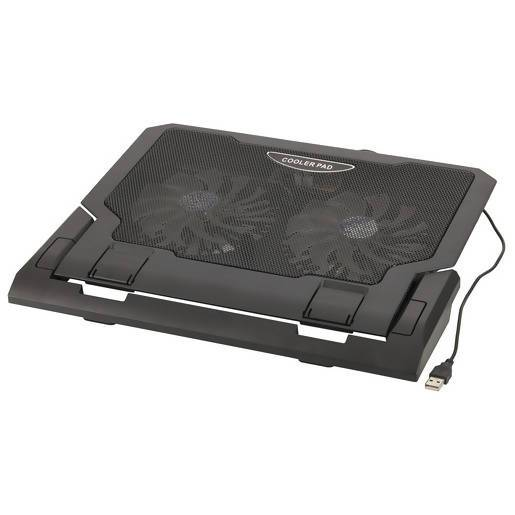 Black Dual Fan Cooling Pad for Notepads - Local Kiwi Deals