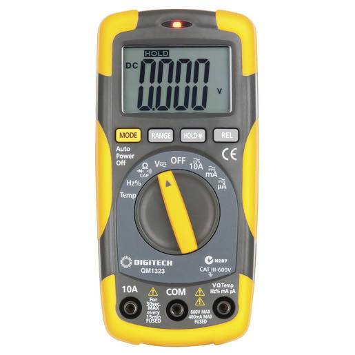 Digitech Cat III Multimeter with Temperature - Local Kiwi Deals