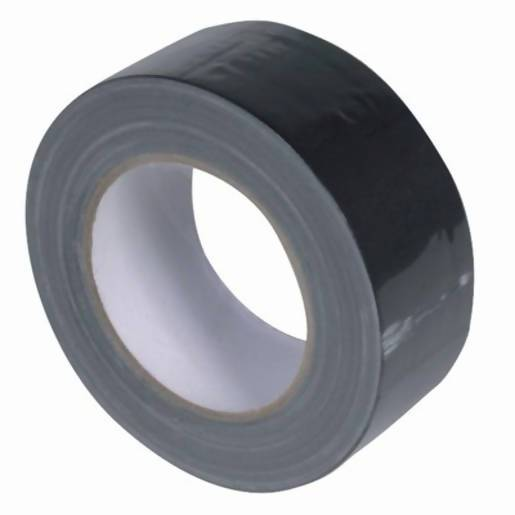 Budget 48mm Black Cloth Tape - 25m Roll - Local Kiwi Deals
