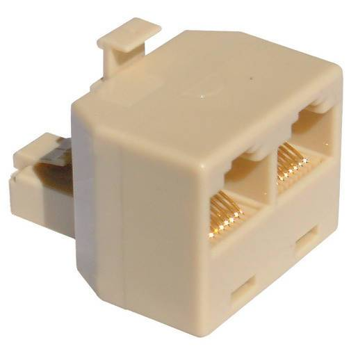 RJ45 Double Adaptor - Local Kiwi Deals