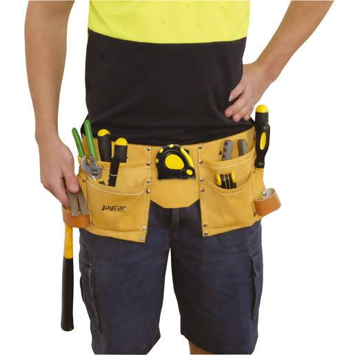 Leather Tool Belt with Pockets - Local Kiwi Deals