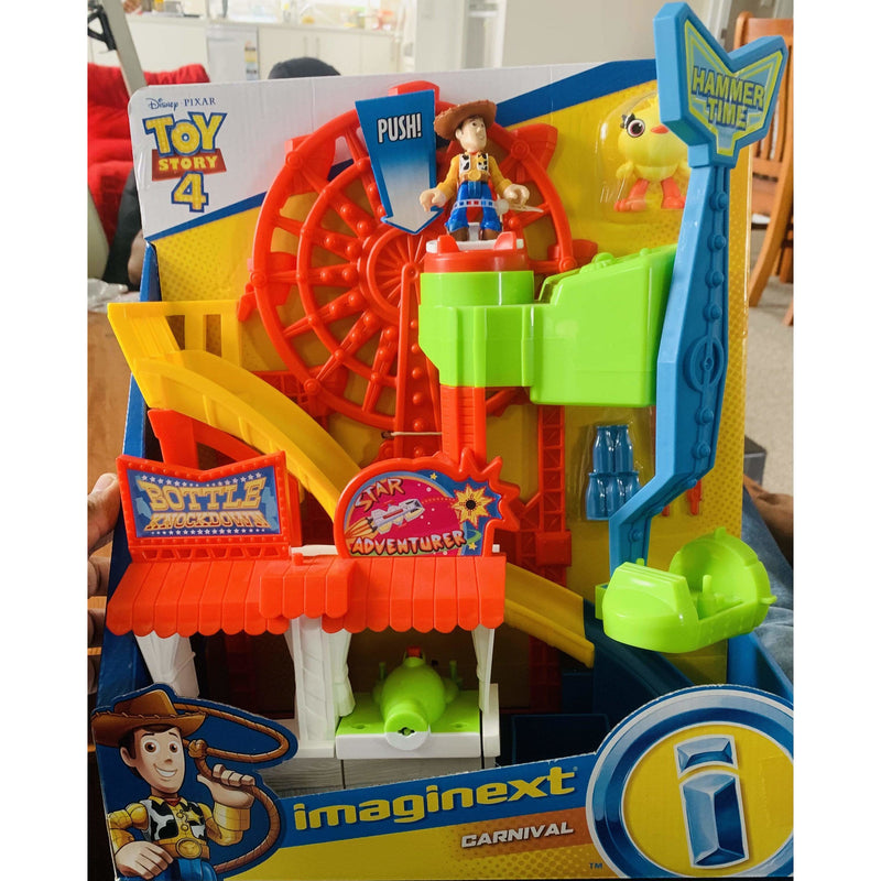 Imaginext Disney Toy Story Carnival Playset with Woody­ Figure - Local Kiwi Deals