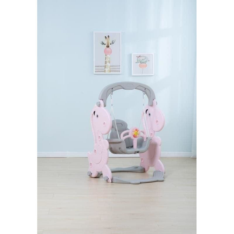 Swing Set for Kids (Pink or Green) - Local Kiwi Deals