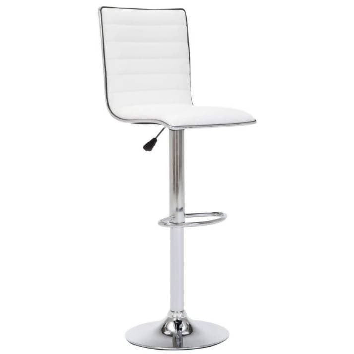 Breakfast Bar Stool X 1 White - Local Kiwi Deals