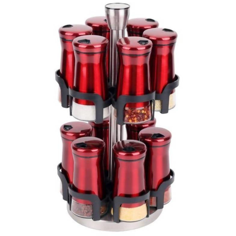 Spice Rack Stand Red - Local Kiwi Deals