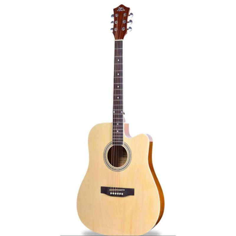 "Acoustic Guitar 41"" With Carry Bag NATURAL - Local Kiwi Deals"