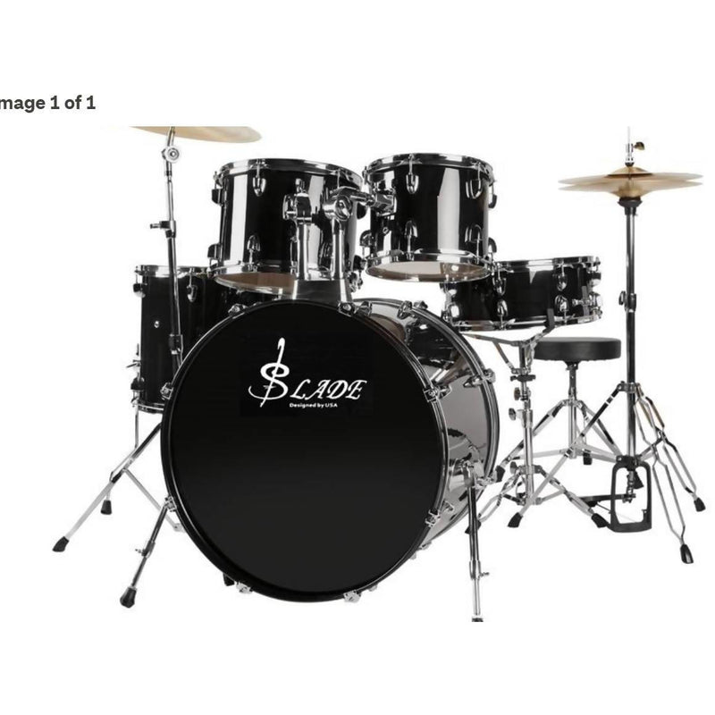Slade 5-Piece 22 Drum Kit Complete 2019 ARRIVAL - Local Kiwi Deals