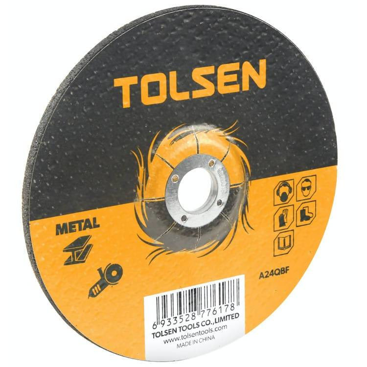 115x6.0x22.2mm Flat Metal Grinding Disc - Local Kiwi Deals