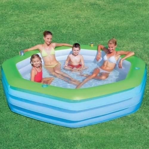 Bestway Deluxe Octagon Family Pool - Local Kiwi Deals