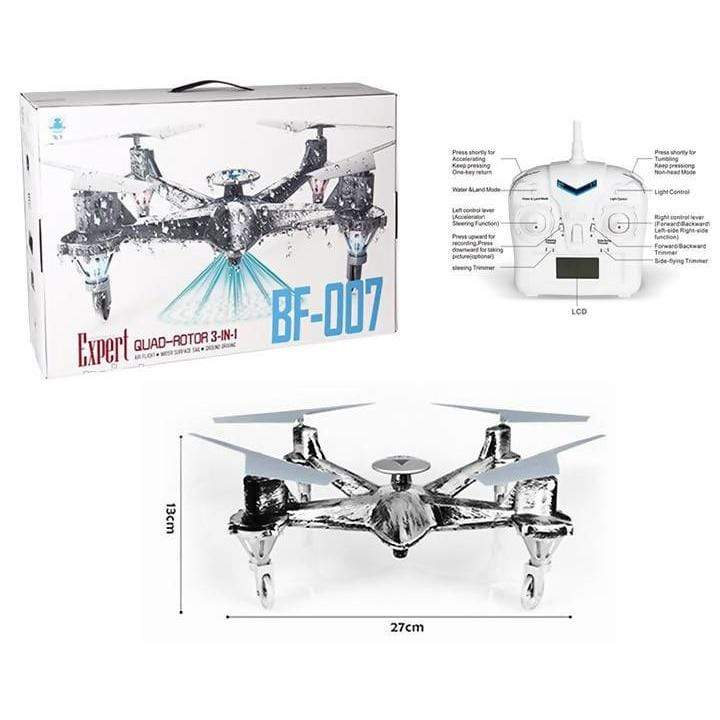 DRONE 3 in 1 Air Flight Water - Local Kiwi Deals