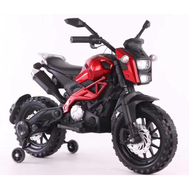 Kids Ride On Motorcycle Electric Battery powered New Arrival RED - Local Kiwi Deals
