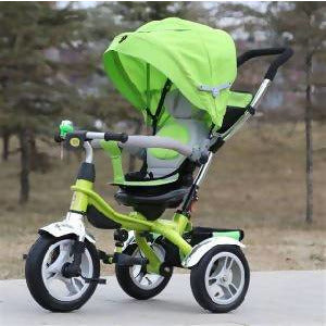 Pram Trike Stroller GREEN - Local Kiwi Deals