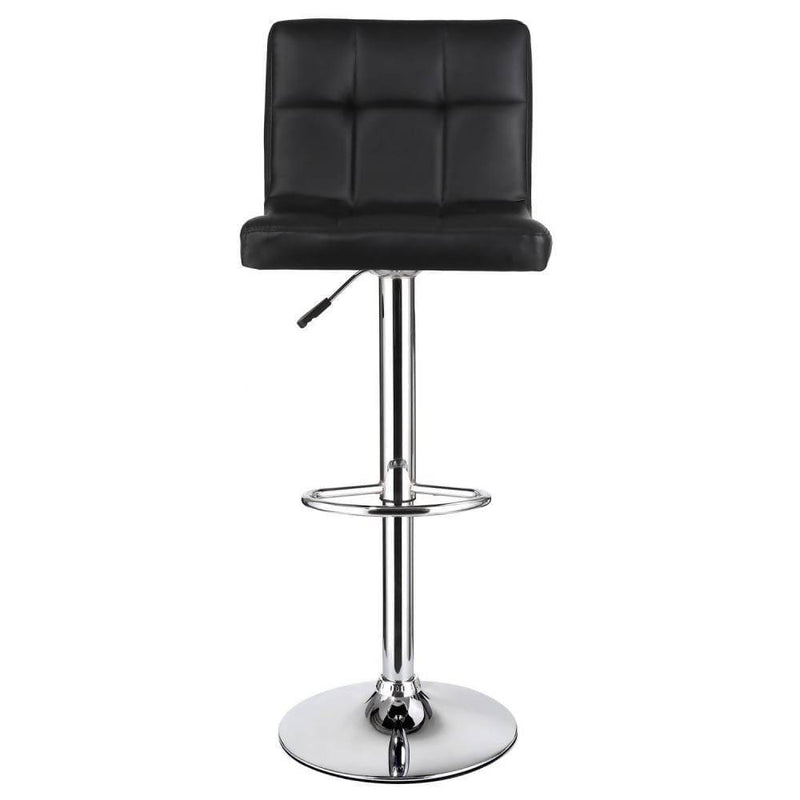 Leather Square Cushion 1pc Bar stool - Local Kiwi Deals