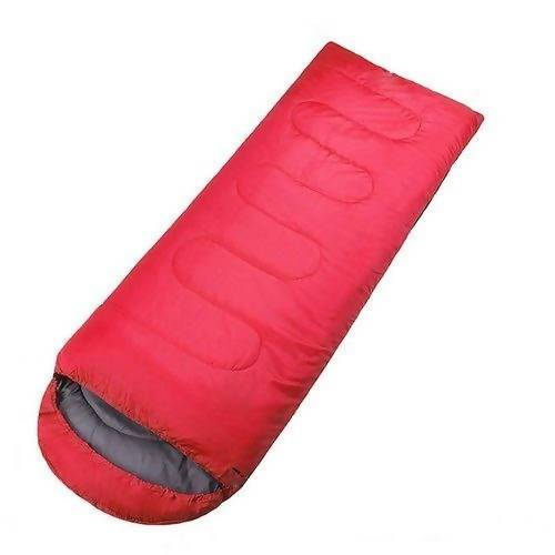 Bag Sleeping Bag (Red and Gray) - Local Kiwi Deals