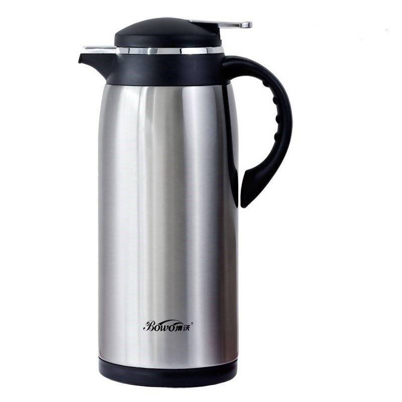 Thermos Flask Glass Vacuum Insulat Stainless Steel - Local Kiwi Deals