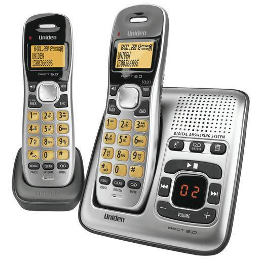 Uniden 2 Handset Cordless Telephone with Answering Machine - Local Kiwi Deals