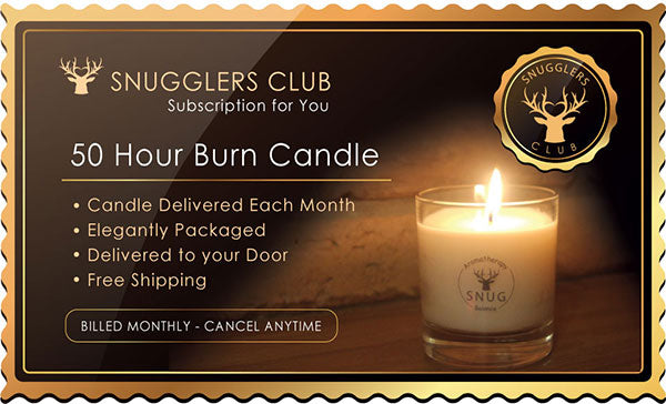50 Hour Burn Candle - Monthly Subscription for You