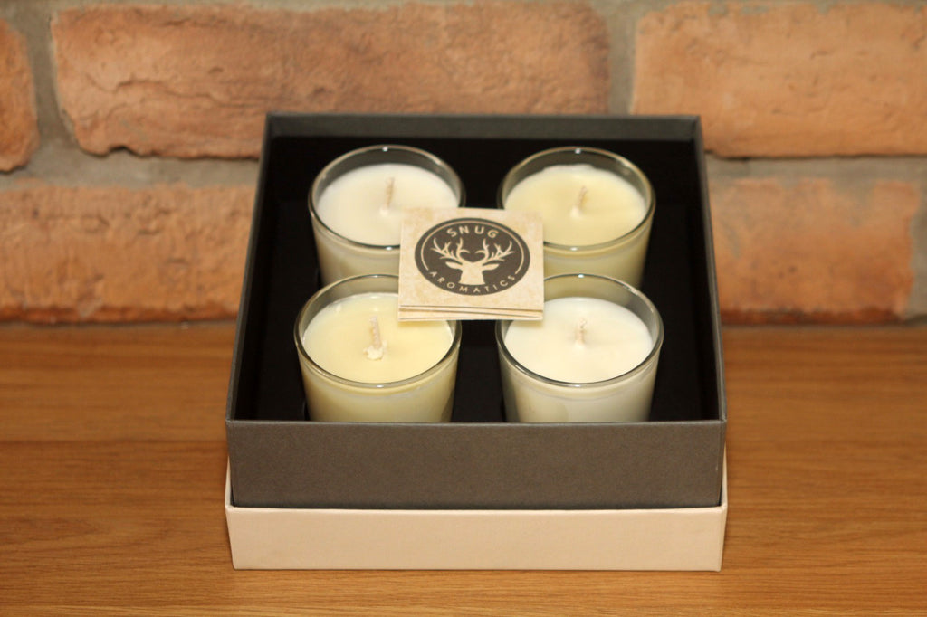 Votive Candles - Pack of 4 - Winter Selection