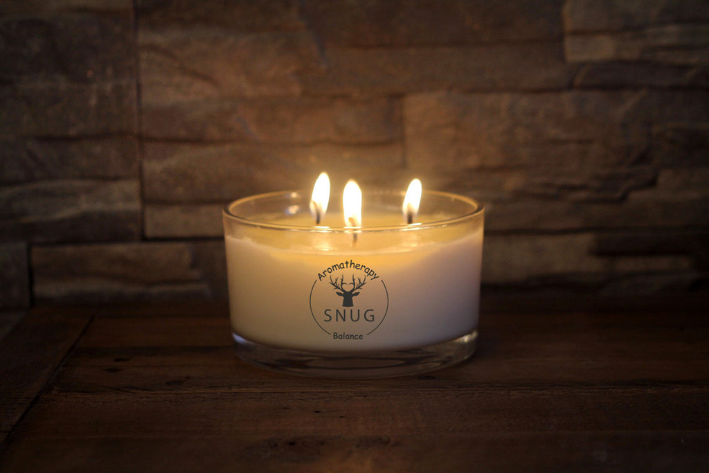 3 Wick Candle - Hearth